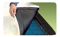 Strata Airbed Mattress: Moisture Barrier