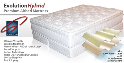 STRATA Airbed Mattress Evolution Hybrid
