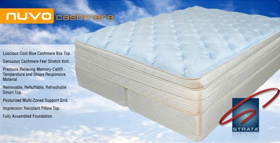 STRATA NUVO Cashmere Air Bed Mattress