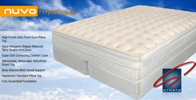 STRATA NUVO Mystique Air Bed Mattress
